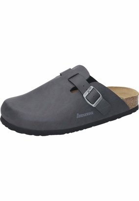 Dr. Brinkmann Unisex - Adult 600212 Clogs Gray Grey Size: 44 EU (9.5 Erwachsene UK)