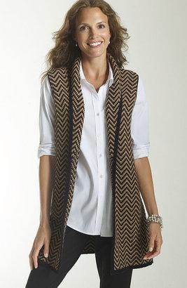 J. Jill Herringbone vest