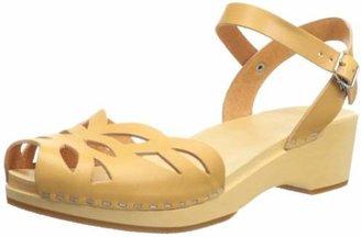 Swedish Hasbeens Women's Ornament Clog Sandal