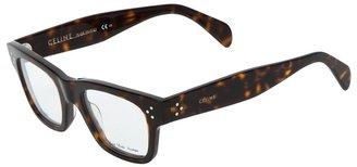 Celine square glasses