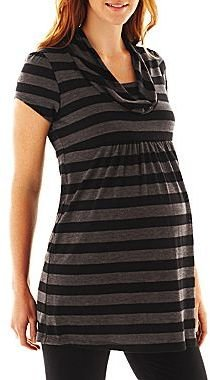 JCPenney Maternity Cowlneck Tunic