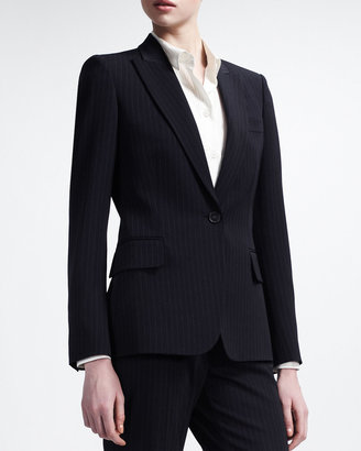 Stella McCartney Pinstripe Single-Breasted Blazer