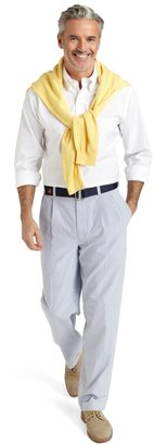 Brooks Brothers Elliot Pleat-Front Seersucker Pants
