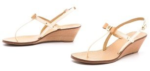 Tory Burch Kailey Wedge Thong Sandals