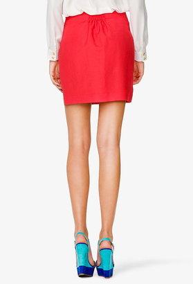 Forever 21 Essential Linen Blend Skirt