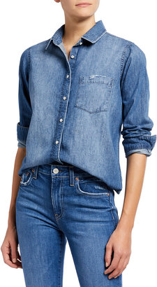 DL1961 Mercer & Spring Denim Top