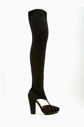Nasty Gal Jeffrey Campbell Avril Thigh High Boot
