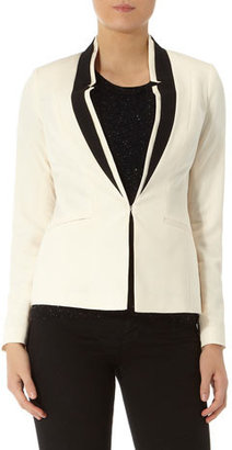 Dorothy Perkins Ivory and black contrast tux
