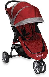 Baby Jogger Baby Jogger™ City Mini Single Stroller - Crimson/Gray