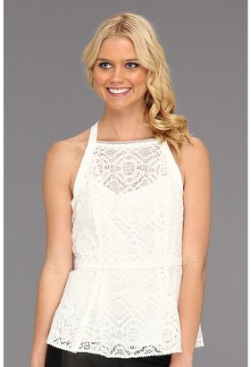 Nanette Lepore Must-See Top (White) - Apparel
