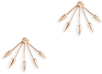 Pamela Love Rose Cinque Earrings