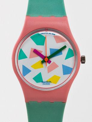 American Apparel Vintage Swatch Blue Lolly Ladies' Watch