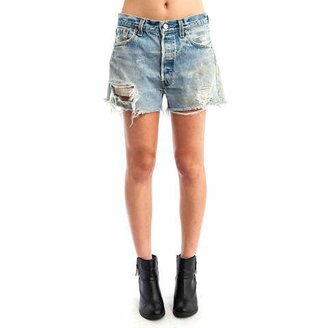 Levi's The Paint Distressed Shorts
