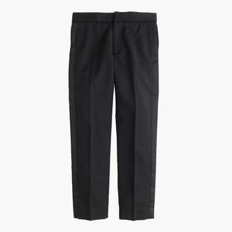 J.Crew Boys' slim Ludlow tuxedo pant in Italian wool