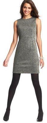 LOFT Tall Seamed Knit Sheath Dress