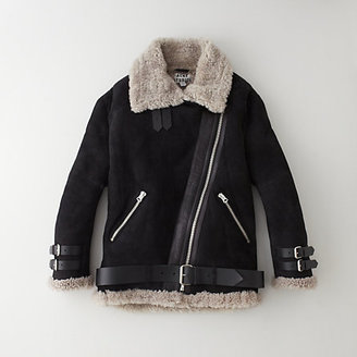 Acne velocite shearling lined jacket