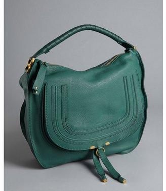 Chloé emerald coast leather 'Marcie' large hobo bag