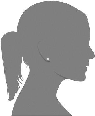 Lucia-Cut Diamond Stud Earrings in 14k White Gold (1-1/4 ct. t.w.)
