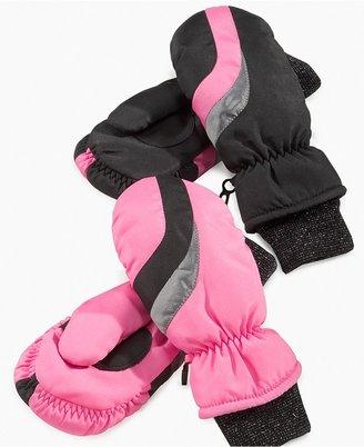 Greendog Kids Gloves, Girls Basic Ski Mittens