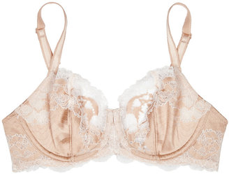 Wacoal Lace Affair Blush Underwired Bra