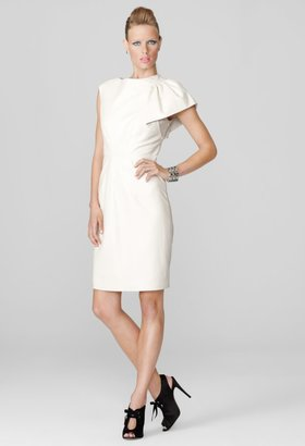 Milly Evening Dresses - Winter White Fiona Cocktail Dress