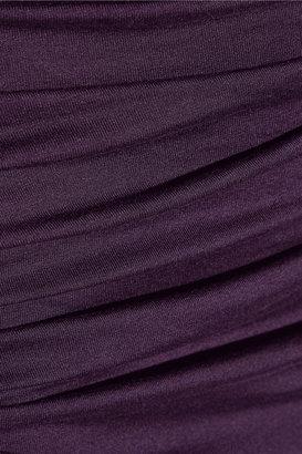 Vivienne Westwood Shaman ruched jersey dress