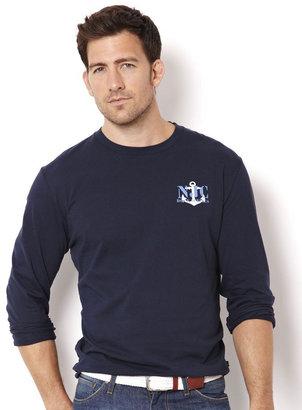Nautica JEANS COMPANY Long-Sleeve Graphic T-Shirt