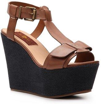 7 For All Mankind Kalistoga Wedge Sandal