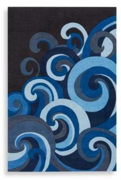 Momeni 'Lil Mo Hipster 8-Foot x 10-Foot Area Rug in Surf