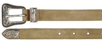 Saint Laurent 20mm Western Suede Belt