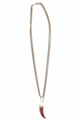 Natalie B Ashley Necklace in Brass
