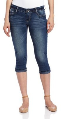 Southpole Juniors Crop Jean with Span and Back Pocket Details