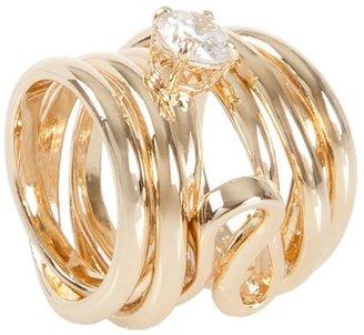 Maison Martin Margiela coiled brass ring