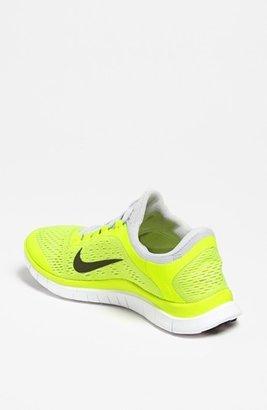 Nike 'Free 3.0 v5' Running Shoe (Women) Club Pink/ White 10 M