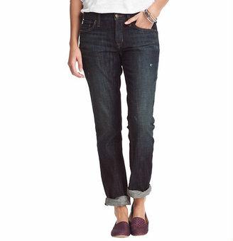 LOFT Petite Slim Boyfriend Jeans in Academy Wash