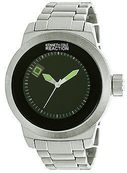 Kenneth Cole Reaction Unisex RK3248 Street Fashion Analog Display Japanese Quartz Silver Watch $42.50 thestylecure.com