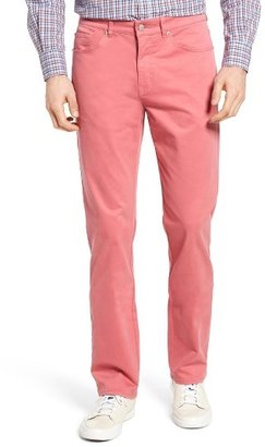 Men's Peter Millar Stretch Sateen Five Pocket Pants $145 thestylecure.com