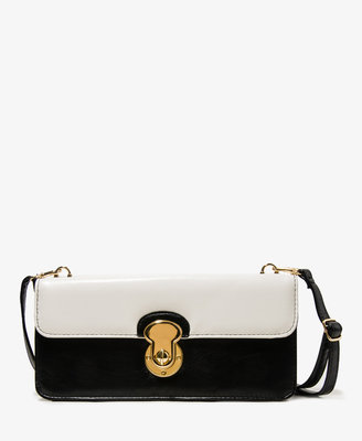 Forever 21 Colorblocked Flap Crossbody