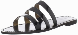 Nine West Women's Fastenup Sandal,Black Synthetic,7.5 M US