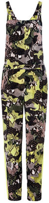 MSGM Preorder Python Patchwork Camouflage Dungarees