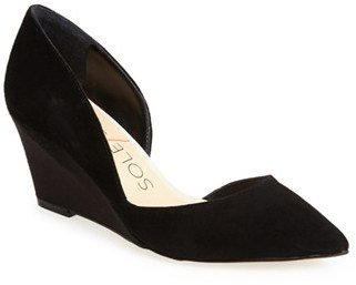 Women's Sole Society 'Jillian' D'Orsay Wedge $74.95 thestylecure.com