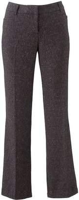 Apt. 9 modern fit herringbone straight-leg pants