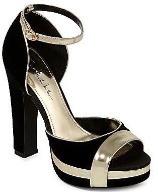 Nicole Miller n by Marilyn Ankle-Strap Heels