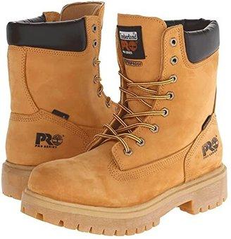 Timberland Direct Attach Waterproof 8 Soft Toe (Wheat Nubuck Leather) Men's Boots