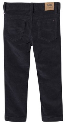Tommy Hilfiger Navy Skinny Cord Trousers