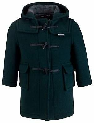 Gloverall School Duffle Coat, Green