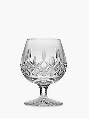 Waterford Cut Lead Crystal Lismore Brandy Glass, 0.3ml, Clear