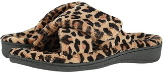 Vionic Relax (Natural Leopard) Women's Slippers