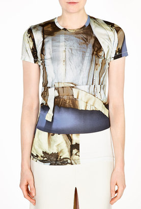 Acne Bliss Merc Printed Fitted T-shirt