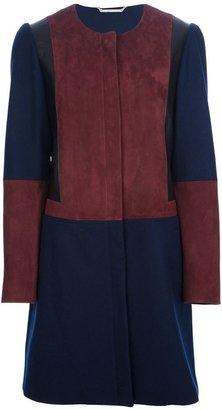 Diane von Furstenberg round-necked coat